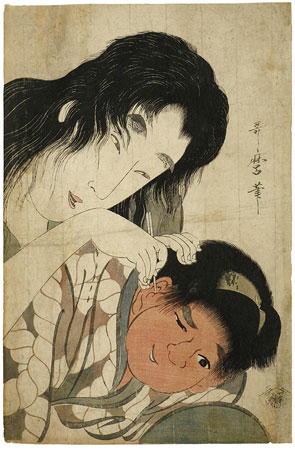 kitagawa_utamaro_-_yamauba_and_kintarc58d_-_ear_cleaning