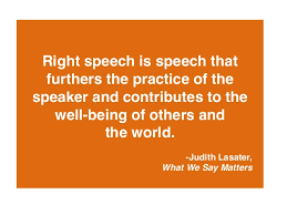 right-speech